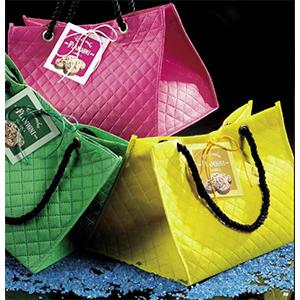 flamigni colomba borse rosa gialla